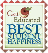 Get Educated Best Student Happiness award.